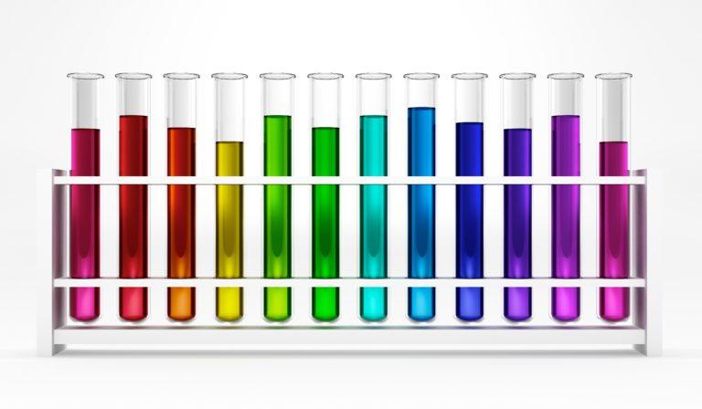kimia - uji - studi